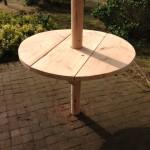 Hout Creatief_Rieten parasol_tafelblad 100 cm