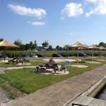 Rieten parasol - project Terherne jachthaven 1