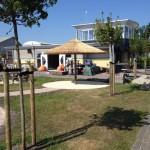 Rieten parasol - project Terherne jachthaven 7