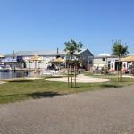 Rieten parasol - project Terherne jachthaven 8