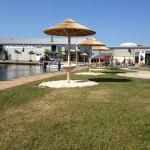 Rieten parasol - project Terherne jachthaven 9