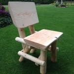 houtcreatief rustieke stoel