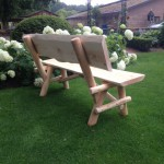 houtcreatief rustieke tuinbank