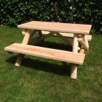 houtcreatief kinderpicknicktafel