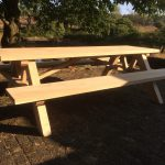 houtcreatief eiken picknicktafel