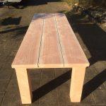 houtcreatief tuintafel, grote tafel