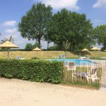 houtcreatief rieten parasol camping zwembad